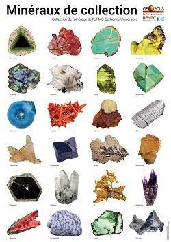 2 Posters - 24 minéraux de Collection (2017) - EPUISE