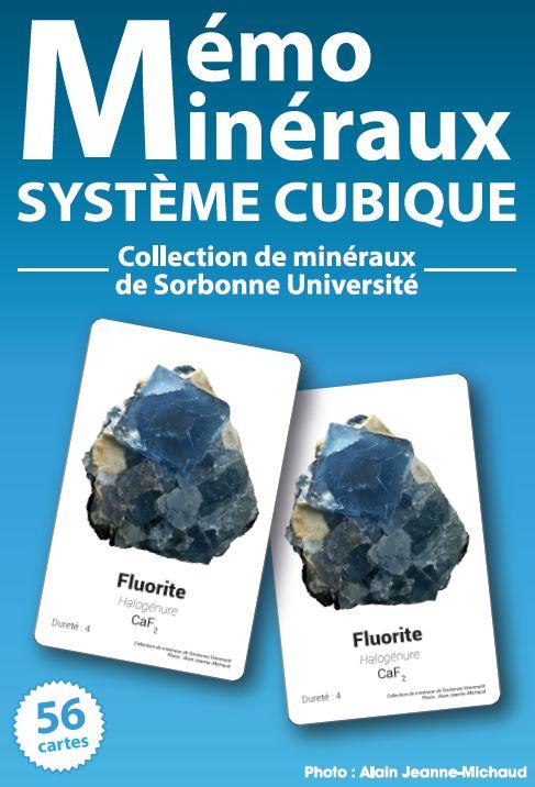 Mémo Minéraux - Système cubique