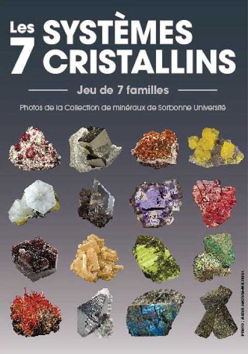 Jeu des 7 familles : Les 7 systèmes cristallins - GEOPOLIS