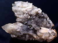 Quartz et calcite, mine de trepca
